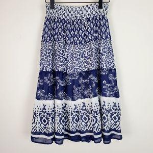 Old Navy Tiered Midi Skirt
